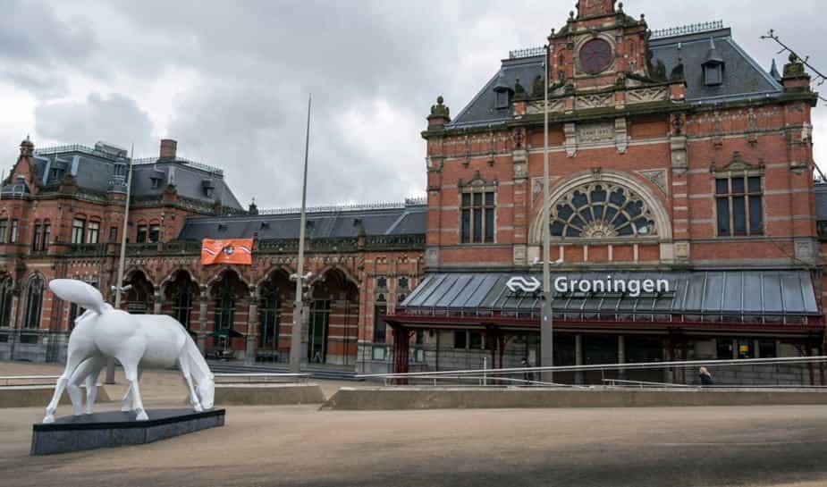 De inwoners van Groningen mogen meepraten over nieuwe locatie van het Holland Casino in Groningen omdat eind augustus het HC is afgebrand.