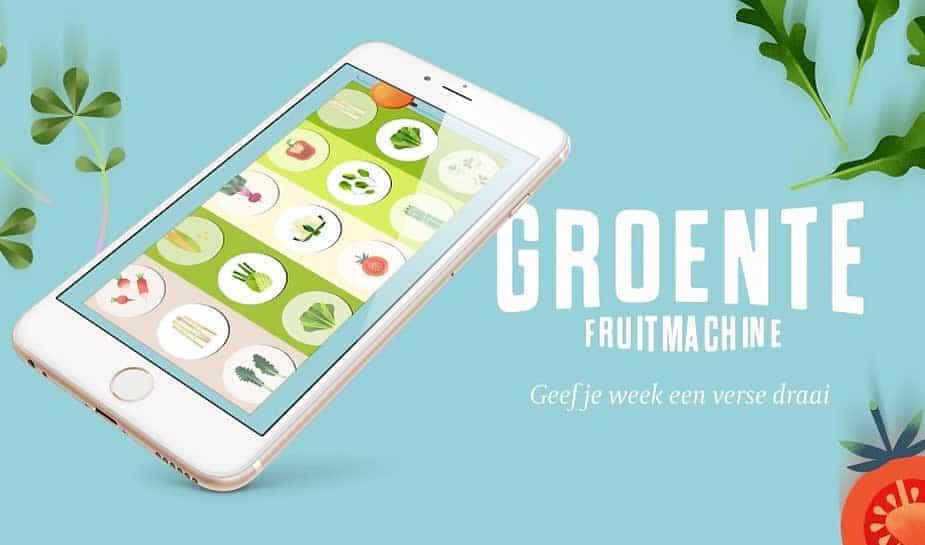 Een fruitmachine die je helpt gezonder en gevarieerder te eten. Met de diverse ingredieënten stelt de fruitmachine de lekkerste recepten samen. Lees meer.