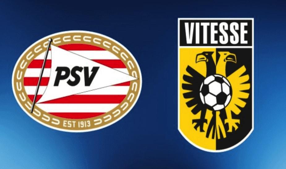 PSV - Vitesse logo's