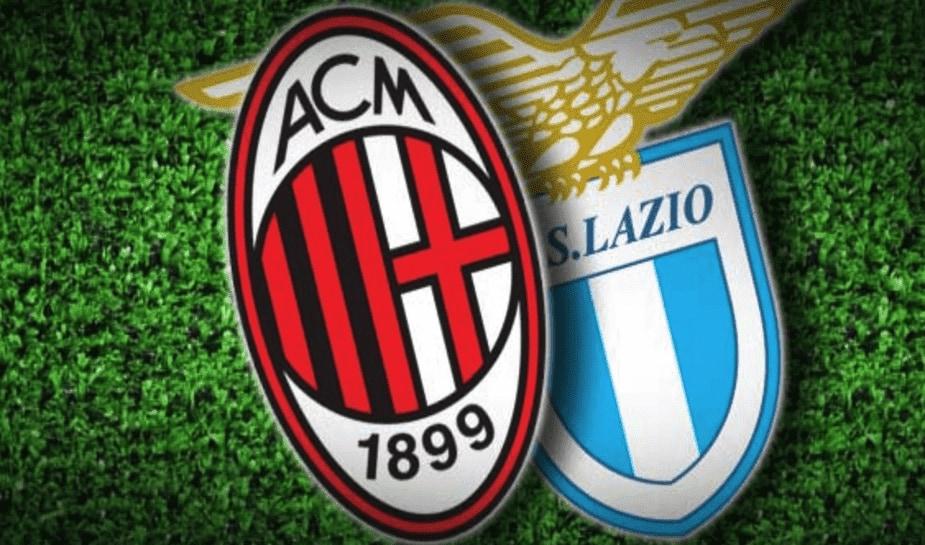 AC Milan tegen Lazio Rome