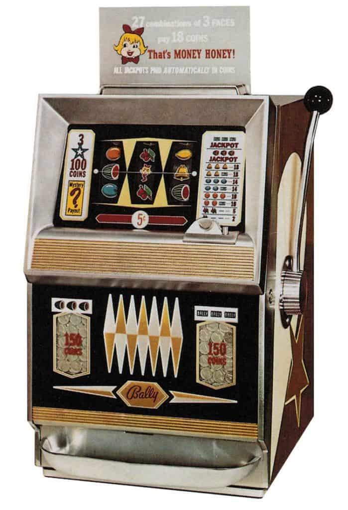 Bally Money Honey 1963