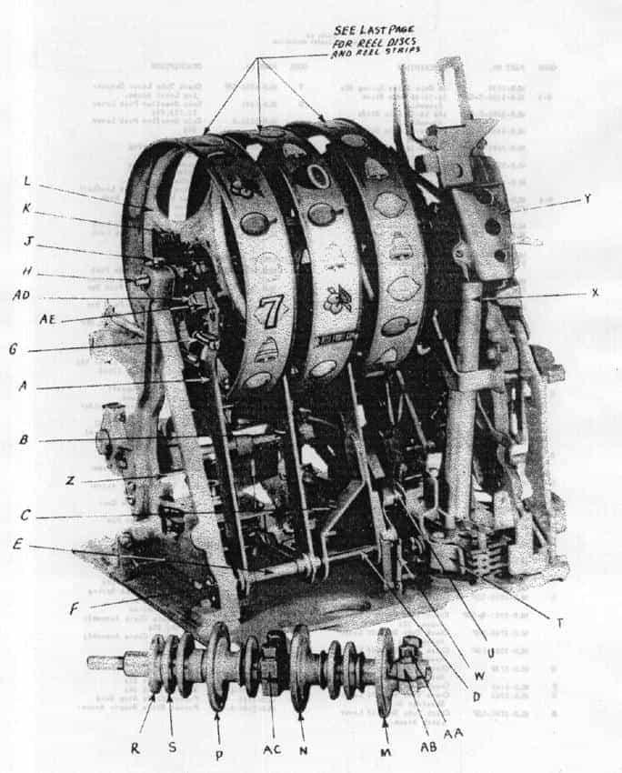Binnenwerk MIlls Bell 1947