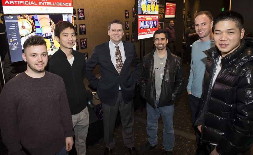computer wint pokerspel (brains vs kunstmatige intelligentie)