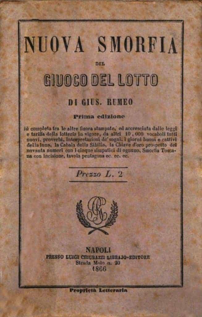 bijgeloof van Italianen - omslag Smorfia
