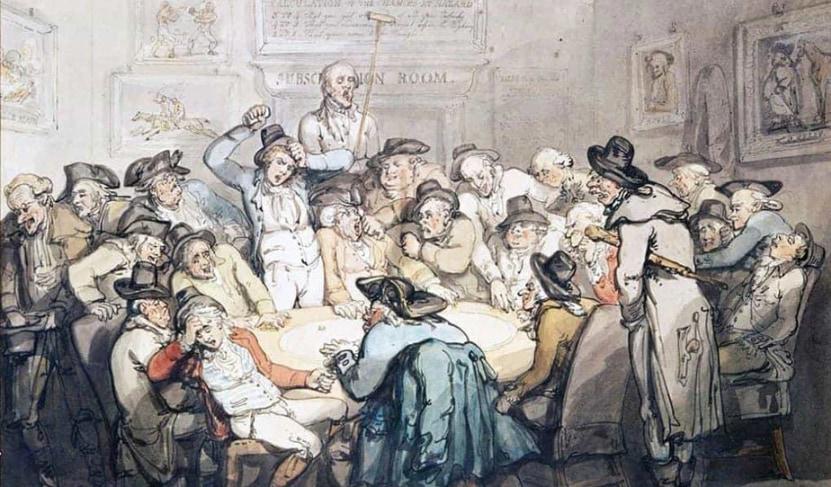 Schilderij van Thomas Rowlandson