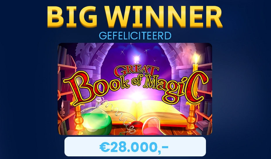 big win great book of magic slot