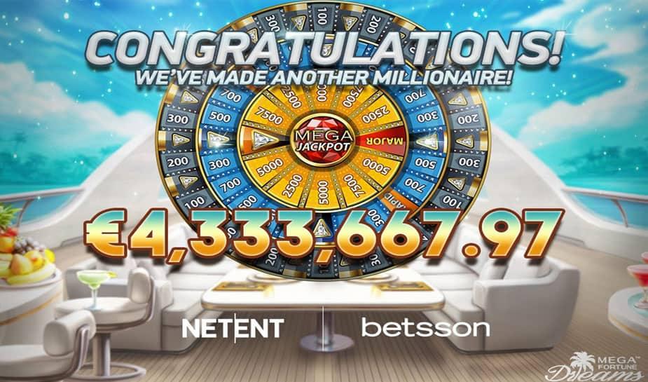 mega fortune dreams winner