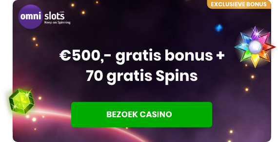 Exclusieve bonus bij Online Casino Ground