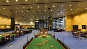 speelzaal in het Casino di Campione