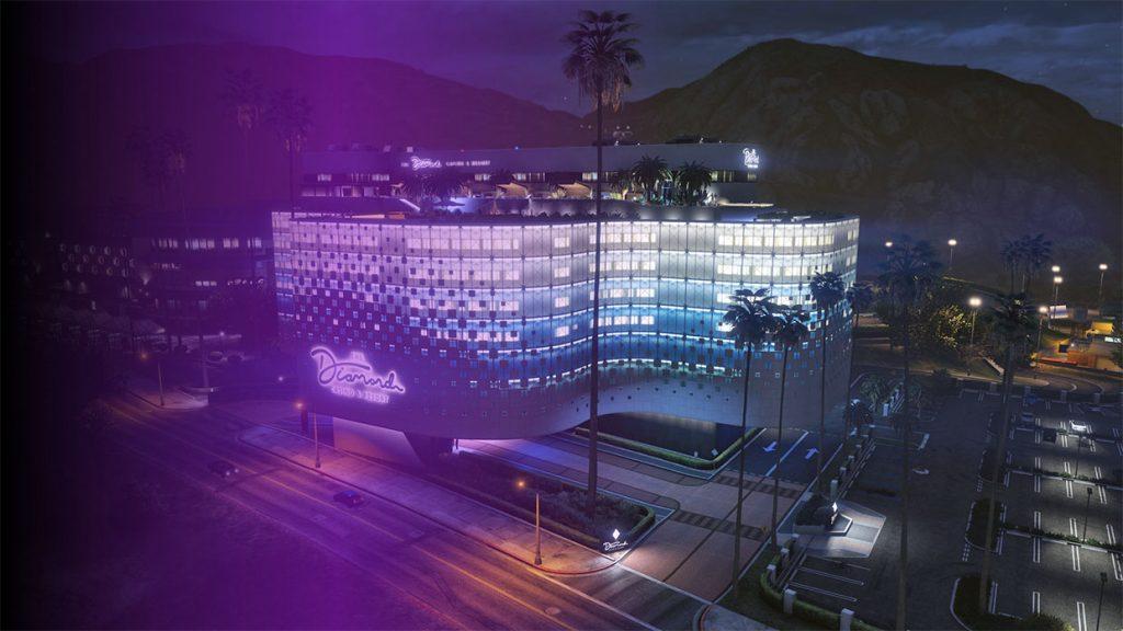 Diamond Casino en Resort in GTA 5