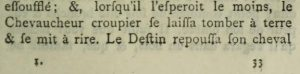 het woord croupier in oude tekst