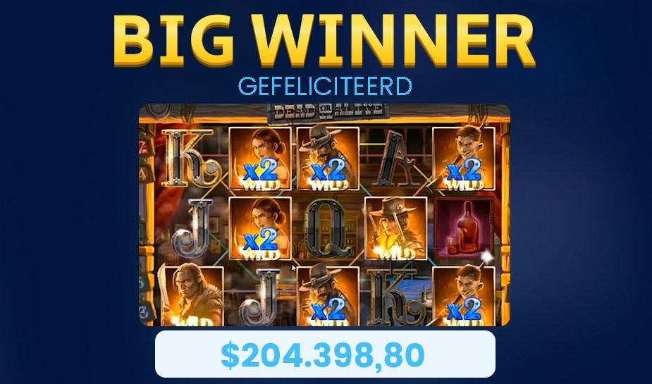 big win dead or alive 2 slot