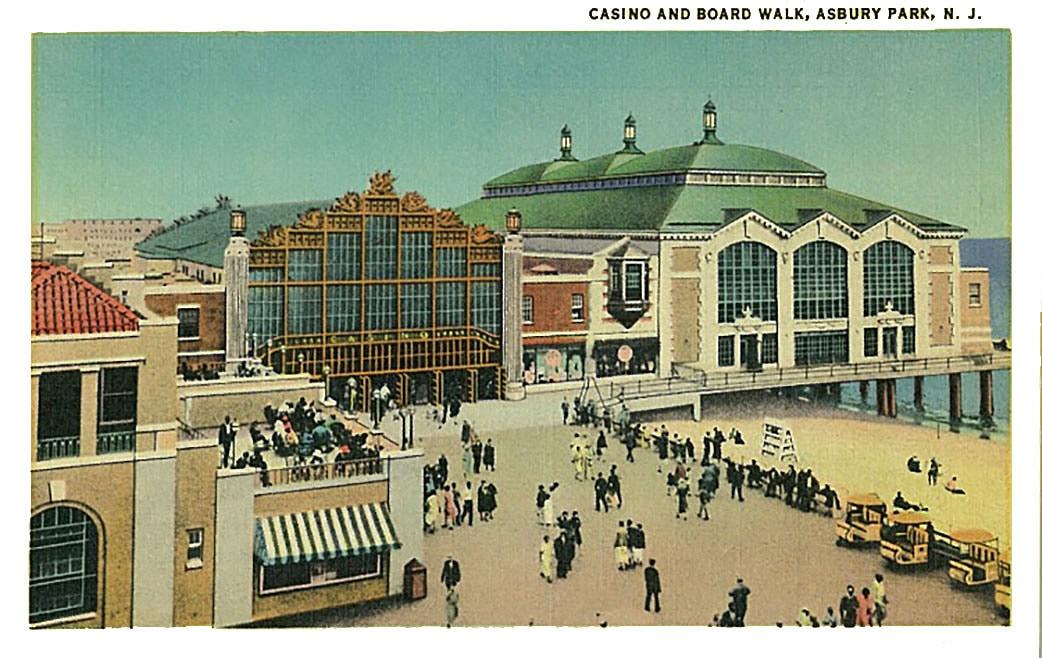 Asbury Park casino en promenade