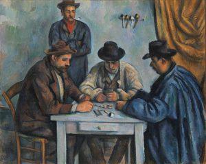 Kaartspelers (1-5) - Cezanne