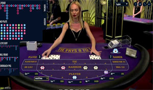 Live Baccarat LuckyStreak casinogame
