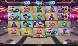 Bowling Frenzy Casino game of SUNFOX Games