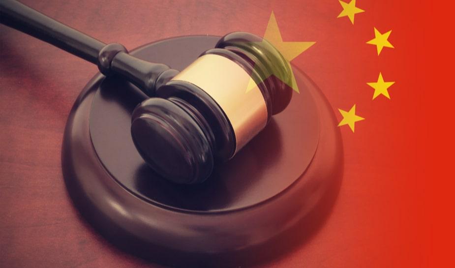 Chinese rechtszaal