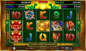 Dragon Power Casino game of Wild Streak Gaming