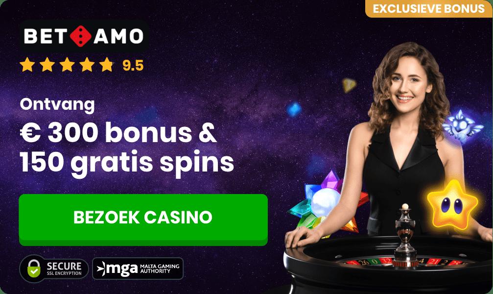 Betamo online roulette casino banner