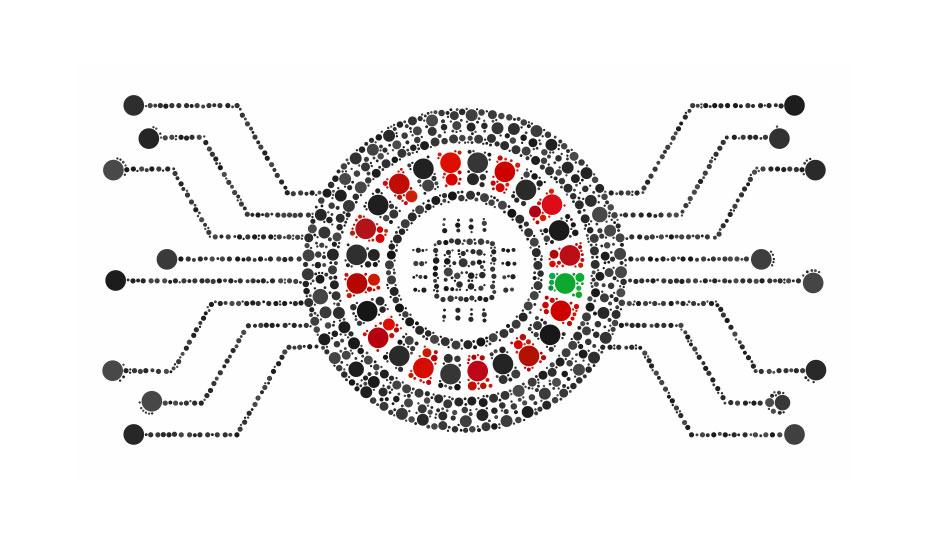 elektronisch roulettewiel