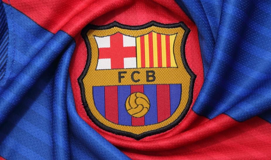 Barcelona shirt logo