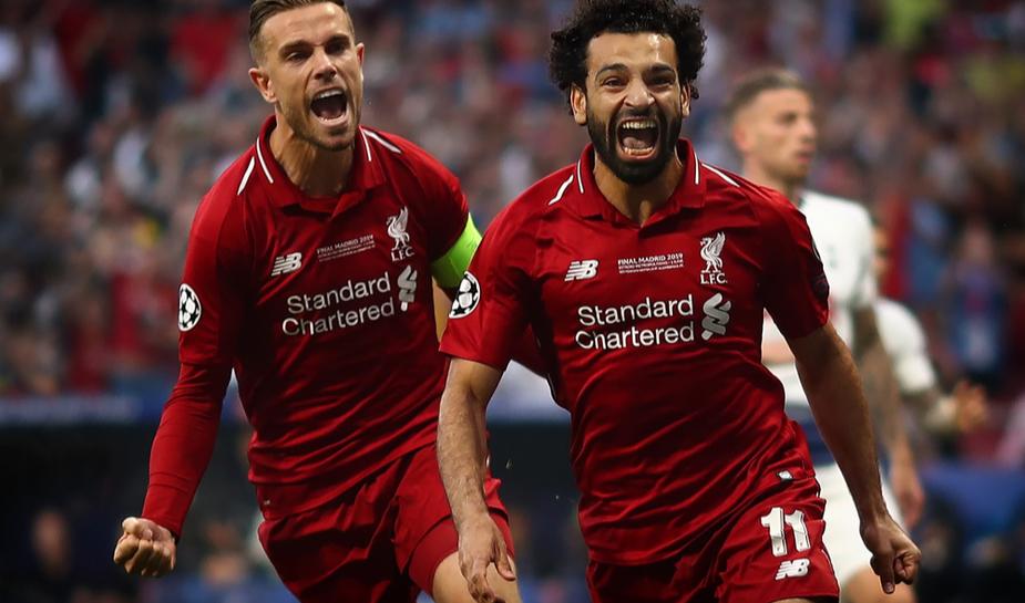 Salah en Henderson Liverpool FC