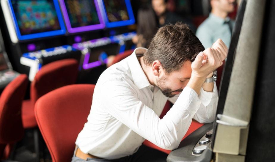 Verliezen in casino