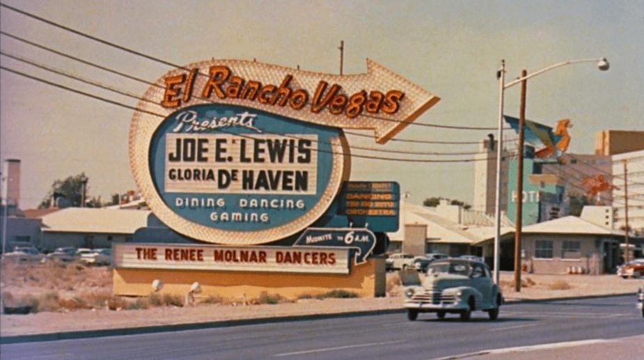 El Rancho vegas eerste casino