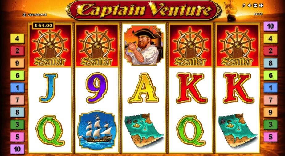 captain venture gokkast