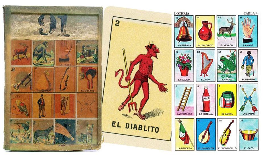 Loteria mexicaanse bingo