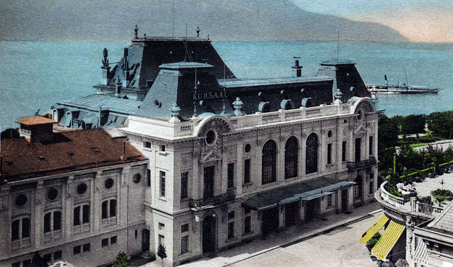 Casino Montreux rond 1900 (kursaal)