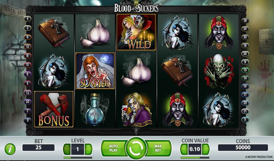 Blood suckers gokkast met beste rtp en winkans