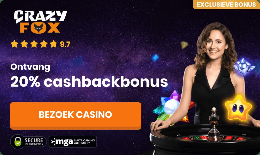 crazyfox roulette casino bonus banner