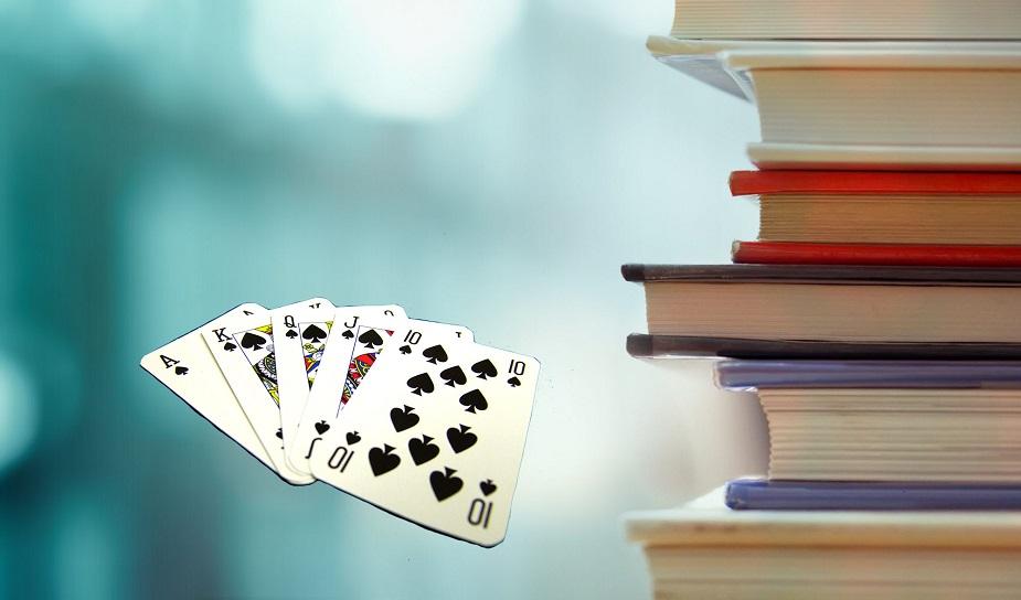 het woord poker