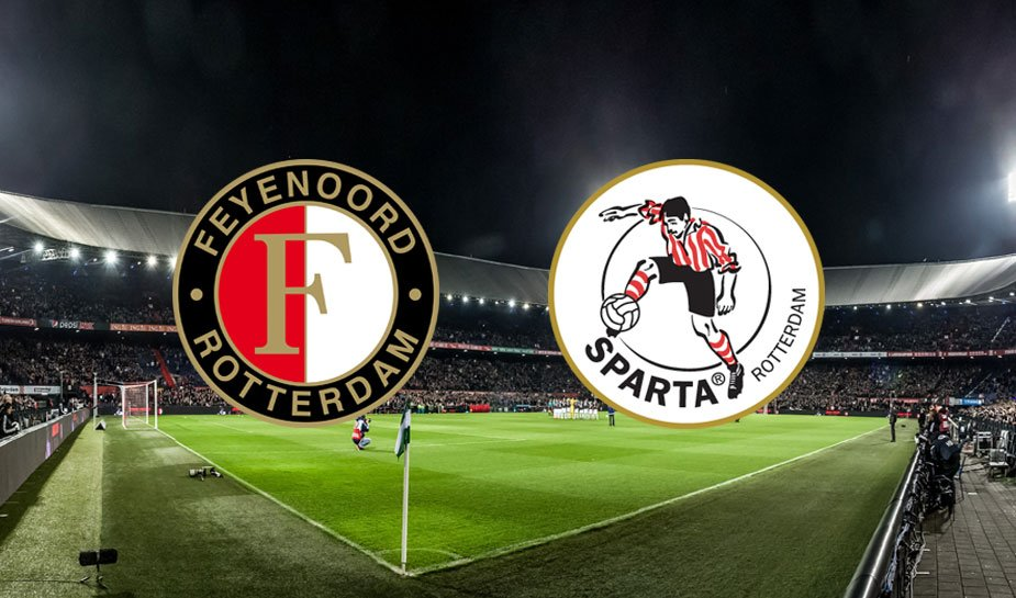 Feyenoord sparta play-offs 19 mei 2021 de kuip rotterdam