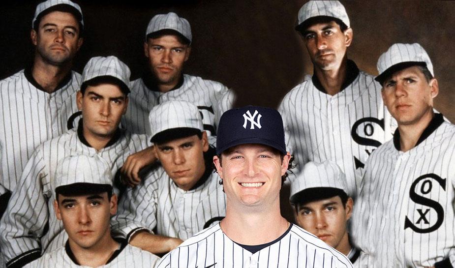Honkbal - eight men out