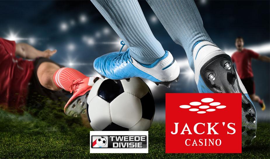 Jack's Casino nieuwe hoofdsponsor tweede divisie voetbal 2021-2022
