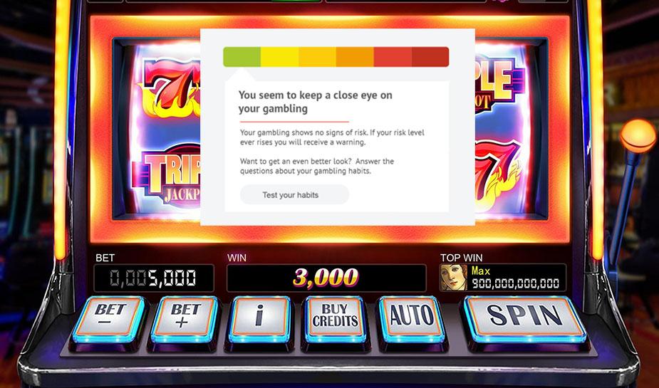 RG-Tools in slot machine
