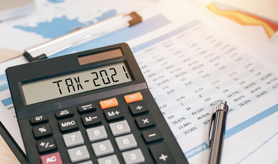belastingteruggave 2021
