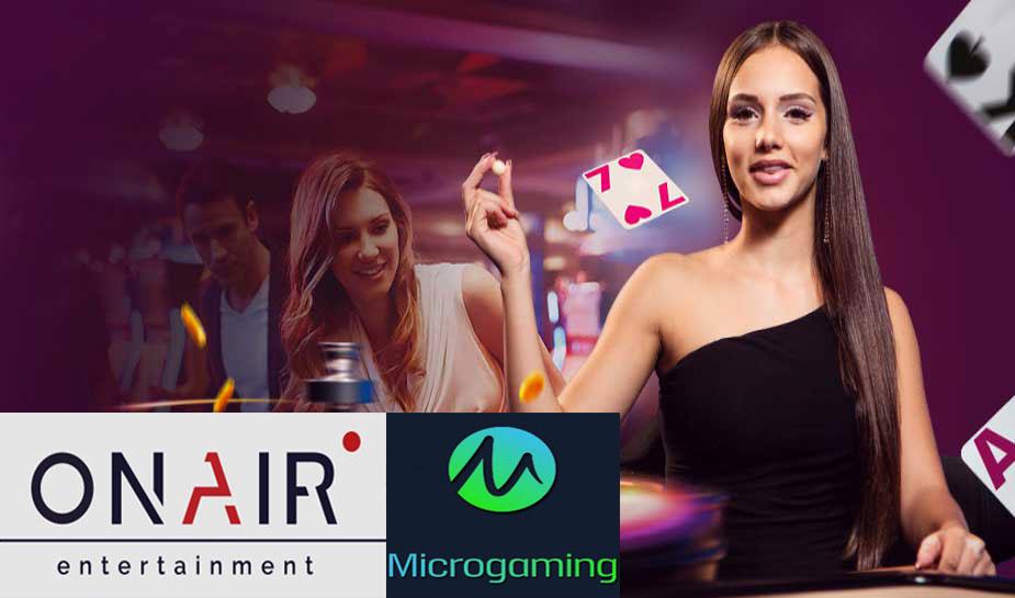 Microgaming nieuw live casino 2022