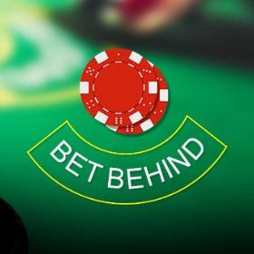 Bet Behind Blackjack