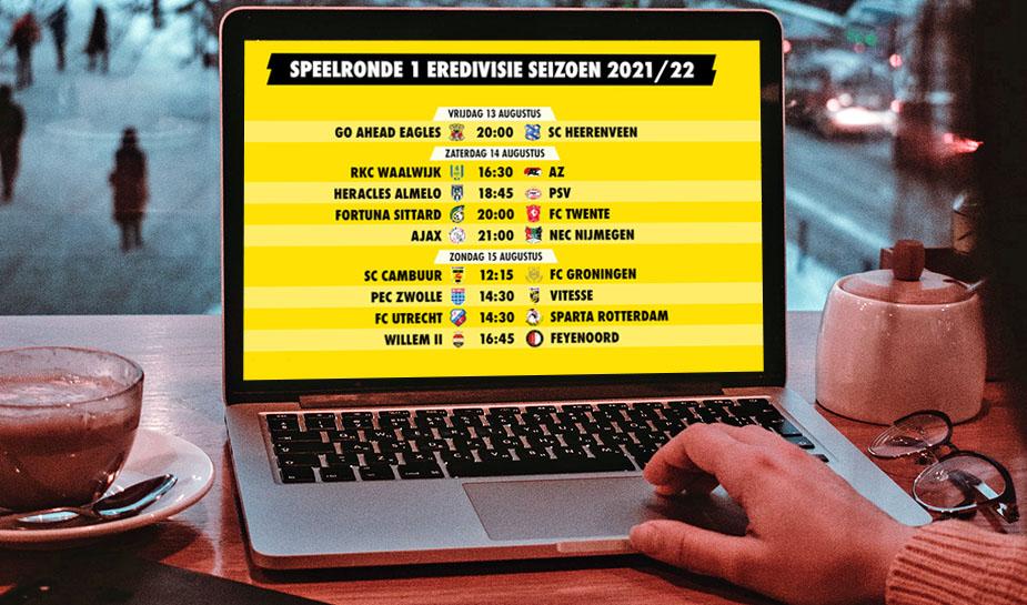 Eredivisie voetbal seizoen 21-22